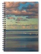 Kaneohe Bay Panorama Mural Spiral Notebook