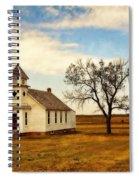 Kansas Church Spiral Notebook