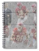 Kansas City Chiefs Legends Spiral Notebook
