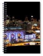 Kansas City Lights Spiral Notebook