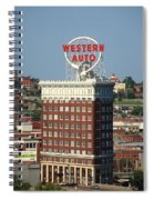 Kansas City - Western Auto Building 2 Spiral Notebook