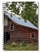 Kansas Hay Barn Spiral Notebook