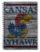 Kansas Jayhawks Spiral Notebook