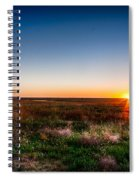 Kansas Sunrise Spiral Notebook