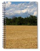 Kansas Wheat Field 5a Spiral Notebook