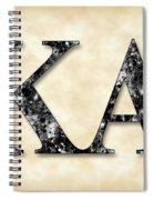 Kappa Alpha Society - Parchment Spiral Notebook