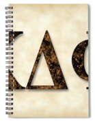 Kappa Delta Phi - Parchment Spiral Notebook