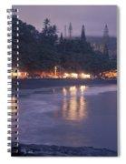Kapueokahi - Hana Bay - Sunset Hana Maui Hawaii Spiral Notebook