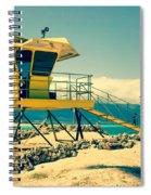 Kapukaulua Beach Lifeguard Station Paia Maui Hawaii  Spiral Notebook