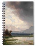 Karawanks Landscape Spiral Notebook