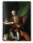 Karl Friedrich Abel (1725-1787) Spiral Notebook