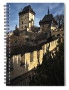 Karlstejn Castle Color Spiral Notebook