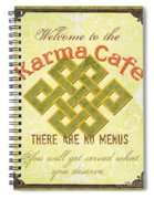 Karma Cafe Spiral Notebook