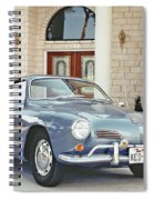 Karmann Ghia Coupe Spiral Notebook