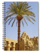 Karnak Temple 03 Spiral Notebook