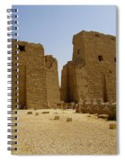 Karnak Temple 04 Spiral Notebook