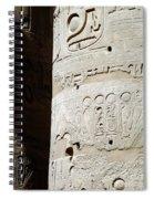 Karnak Temple 11 Spiral Notebook