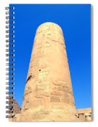 Karnak Temple 18 Spiral Notebook