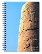 Karnak Temple 21 Spiral Notebook
