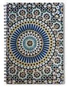 Kasbah Of Thamiel Glaoui Zellij Tilework Detail  Spiral Notebook