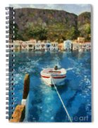 Kastellorizo Island Spiral Notebook