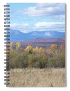 Katahdin From Staceyville 3 Spiral Notebook