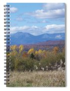 Katahdin From Staceyville 4 Spiral Notebook