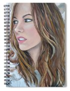 Kate Beckinsale Spiral Notebook