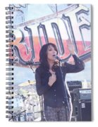 Katey Sagal Spiral Notebook
