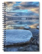 Kathleen Lake And Mount Worthington Spiral Notebook