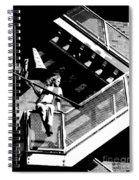 Katie-fire Escape Spiral Notebook