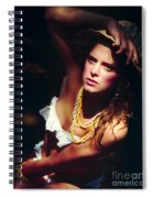 Katie White Hat Spiral Notebook