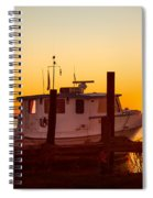 Katlyn At Sunrise Spiral Notebook