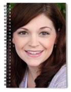 Katy Eyes Head Shot Spiral Notebook