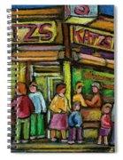 Katz's Deli Spiral Notebook