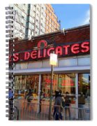 Katz's Delicatessan Spiral Notebook