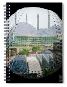Kauffman Center For The Performing Arts Square Baseball Spiral Notebook