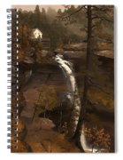 Kauterskill Falls Spiral Notebook