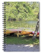 Kayak Rentals Spiral Notebook