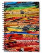 Kayak Spectrum Spiral Notebook