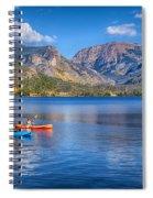 Kayaking Grand Lake Spiral Notebook