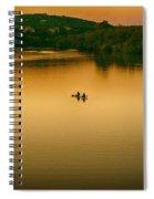 Kayaking On Lady Bird Lake Spiral Notebook