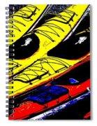 Kayaks Ashore Spiral Notebook