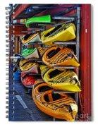 Kayaks Hdrbt3226-13 Spiral Notebook