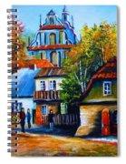 Kazimierz Dolny In Fall Spiral Notebook