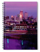 Kc Skyline-1990 Spiral Notebook