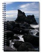 Keanae Peninsula Maui Hawaii Spiral Notebook