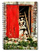 Keep All Fire Exits Clear Spiral Notebook