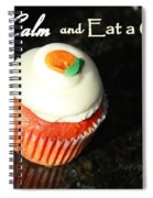 Keep Calm And Eat A Cupcake Spiral Notebook