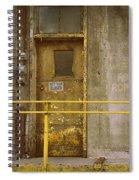 Keep Door Closed Spiral Notebook